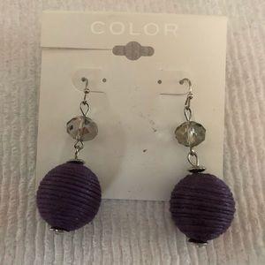 Purple Earrings!!!